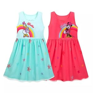 Minnie Mouse and Daisy Duck Nightshirt Set Girls